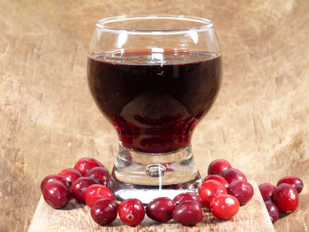 cranberry juice Stock Photo - 16097630