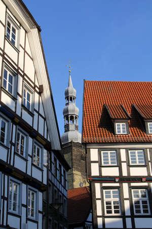 soest: Blick vom Marktplatz in Soest auf St.Petri