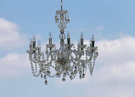 halogen lighting: chandelier