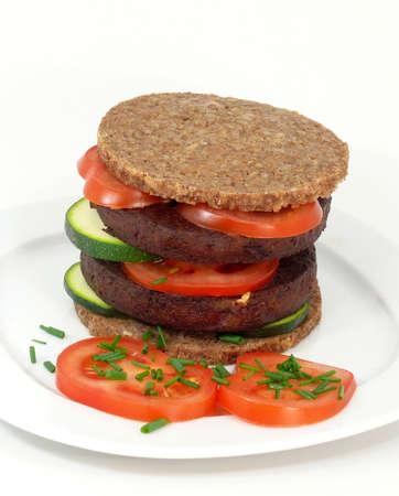 soja: tofuburger