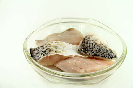 calcarifer: Baramundi filet Stock Photo