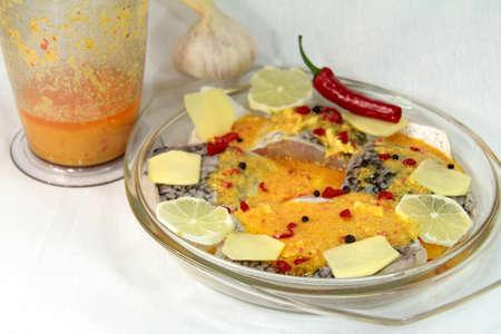 lates: marinade Baramundi