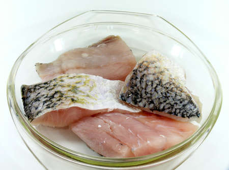 calcarifer: marinade Baramundi filets