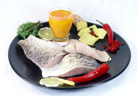calcarifer: marinade Baramundi