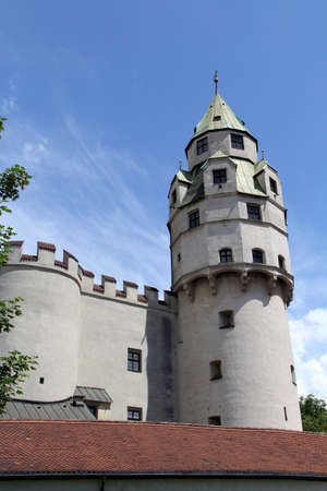 castle conditioning: tyrol, old Hasegg castle tower Stock Photo