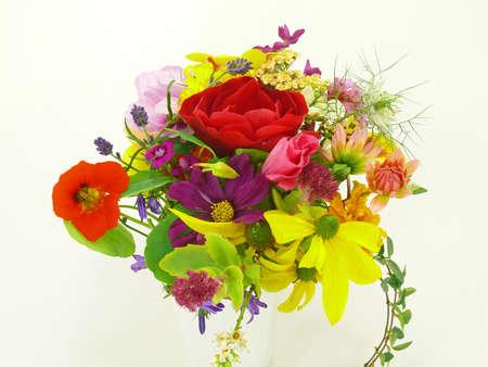 flocking: flower bouquet