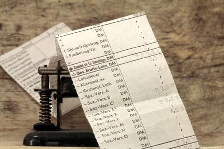 paper punch: payroll, payroll taxes