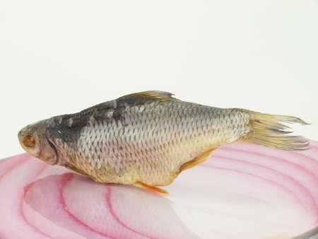 spurious: dried stockfish Stock Photo
