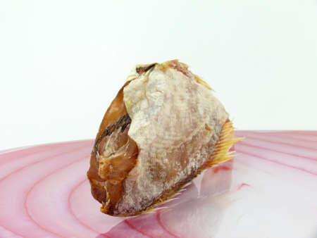 stockfish: dried stockfish Stock Photo