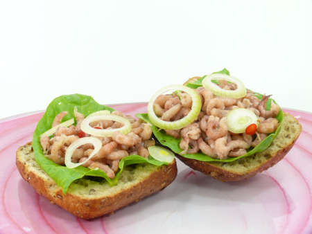 shrimp sandwiches