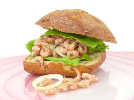 decapods: shrimp sandwiches