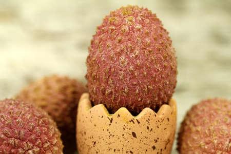 lechee: lychee fruit