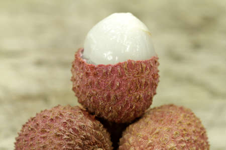 lychee: lychee fruit