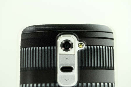 smartphone camera in zoom objectively look