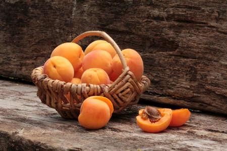 apricots: sugar apricots Stock Photo