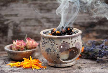 Smoking herbs medicine