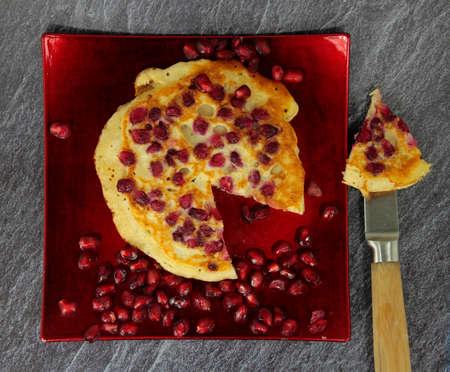 cranberries pancakes
