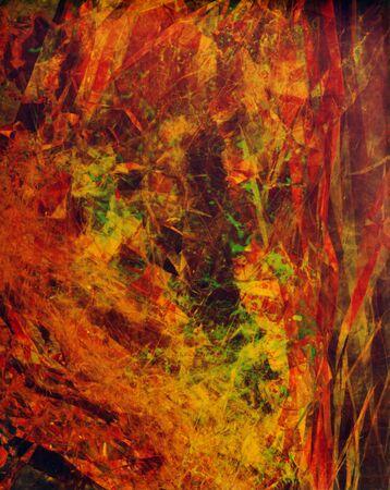 Fractal design texture wallpaper, abstract illustration.
