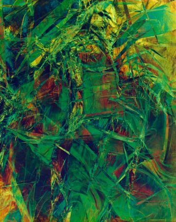 Fractal design texture wallpaper, abstract illustration. Stok Fotoğraf - 133404418