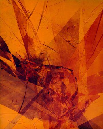 Fractal design texture wallpaper, abstract illustration. Stok Fotoğraf - 133404435