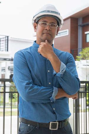 asian architect: asian male architect Stock Photo