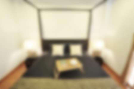blur image of home interior photo