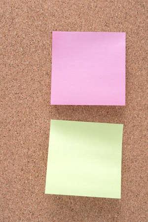 note board: note paper stick on wood board