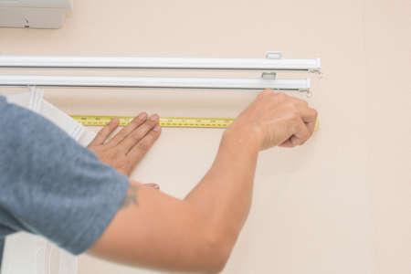 handy man: handy man install curtain