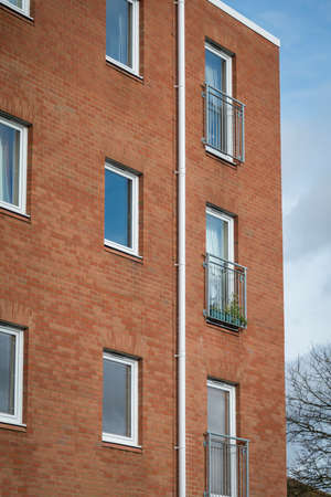 first time buyer: New build small block of flats appartments in suburban UK