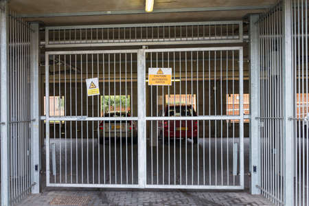 gated: Secure and gated undercover car parking