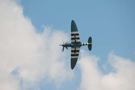 raf: RAF Spitfire PRX1X in D Day markings