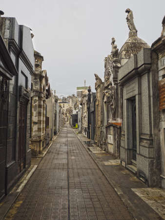aires: Buenos Aires, Argentina  - 19th October 2015: La Recoleta Cemetary.