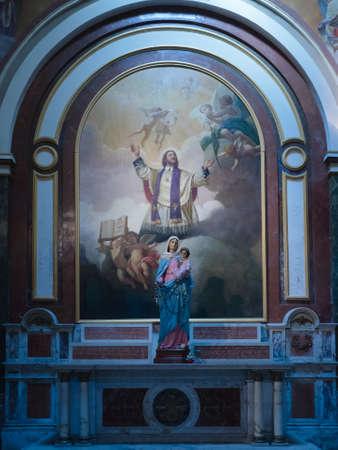 aires: Buenos Aires, Argentina  - 20th October 2015: Metropolitan Cathedral, interior