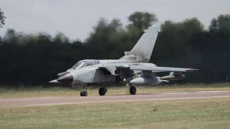 A Tornado jet fighter about to depart