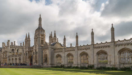 Cambridge, UK - 1st May 2017: View of the university city of Cambridge in the UK