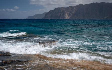 Mediteranean sea shore, Mochlos, NE Crete