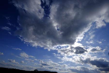 Dark clouds are drawing Reklamní fotografie