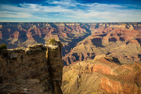 view from the south rim over the grand canyon  写真素材
