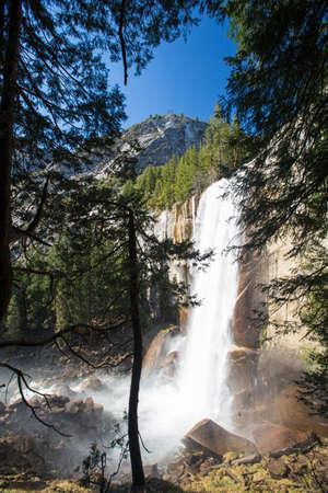 Vernal Fall in Yosemite National Park  photo