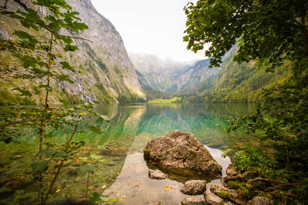 Obersee in Bavaria, Germany photo