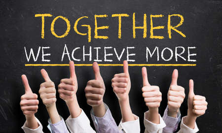 Together we achieve more photo