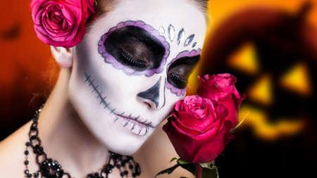 sugar skull styling photo