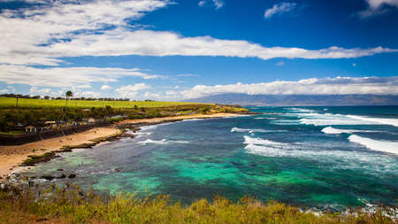 Maui coastline, Hawaii