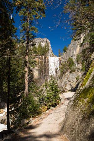 vernal: Vernal Fall in Yosemite National Park