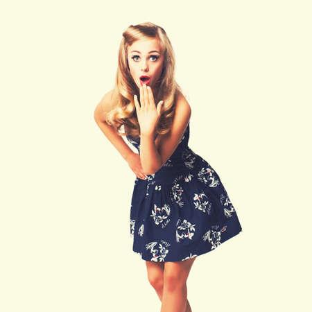 rockabilly: girl in rockabilly outfit
