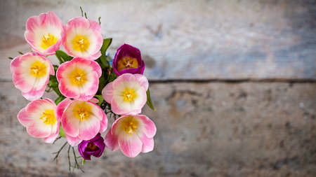 bouqet: bouqet of spring flowers Stock Photo
