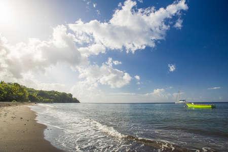 commonwealth: beach on Dominica Stock Photo