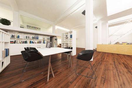 3D uffici reso Archivio Fotografico