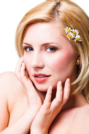 naked young women: красивая блондинка женщина