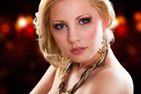 ravishing: attractive young blonde woman